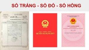 越南房地產: 房產證怎麼分?紅簿、白簿、粉紅簿